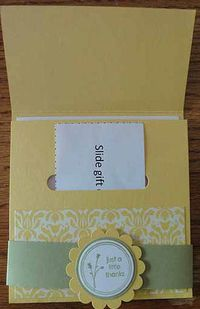 Vicki kiyohara gift card holder open
