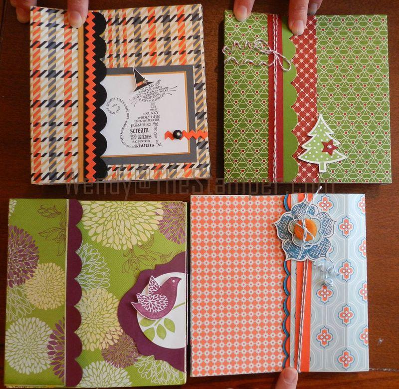 Triple pocket fronts