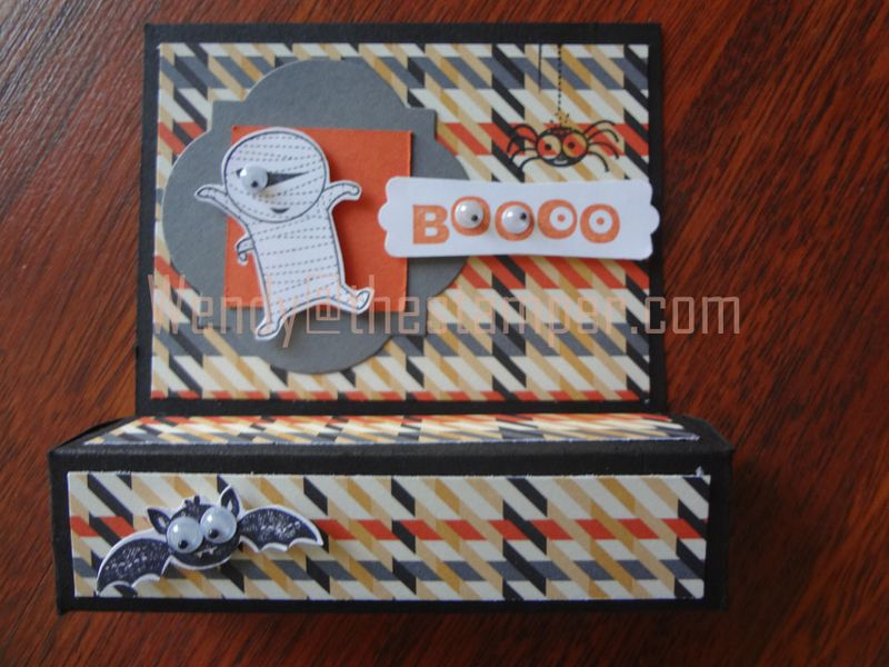 Googly ghouls treat box